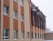 Фасады из плоского хризотилцементного листа